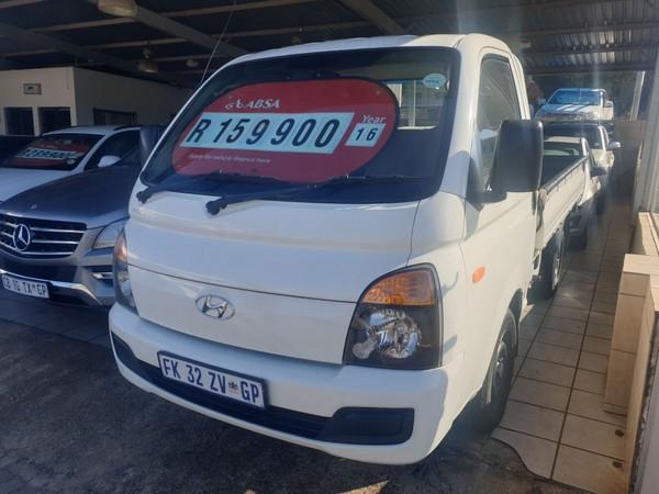 2016 Hyundai H100 Bakkie 2.6d Fc Ds  Gauteng Krugersdorp_0
