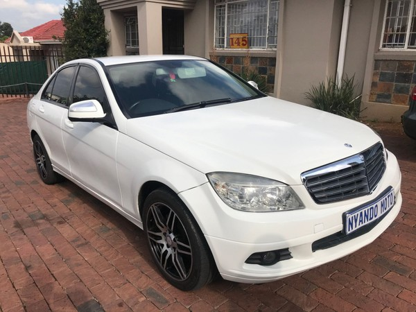 2008 Mercedes-Benz C-Class C200k Elegance At  Gauteng Bramley_0
