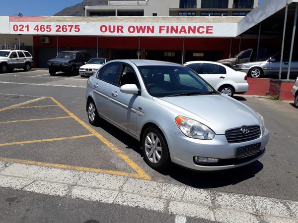 2008 Hyundai Accent 1.6 Gls Hs  Western Cape Cape Town_0