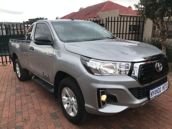 2018 Toyota Hilux 2.4 GD-6 RB SRX Single Cab Bakkie Gauteng Bramley_0