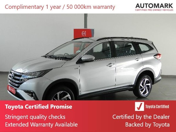 2019 Toyota Rush 1.5 Auto Western Cape Rondebosch_0