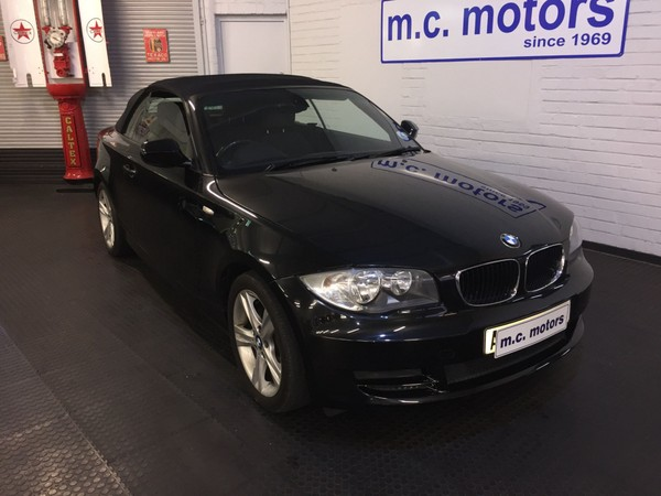 2010 BMW 1 Series 120i Convertible At  Western Cape Cape Town_0