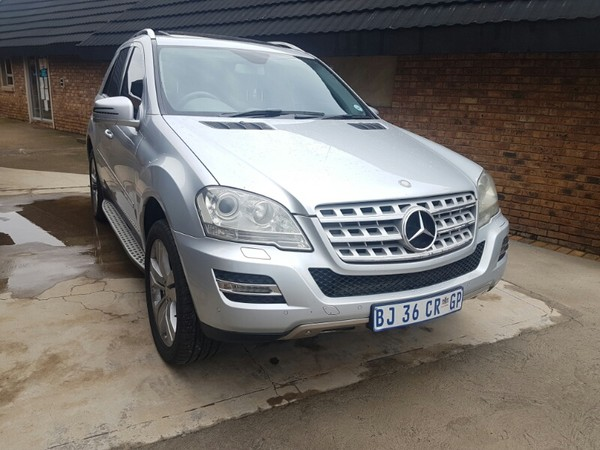 2011 Mercedes-Benz M-Class Ml 350 At  Gauteng Kempton Park_0