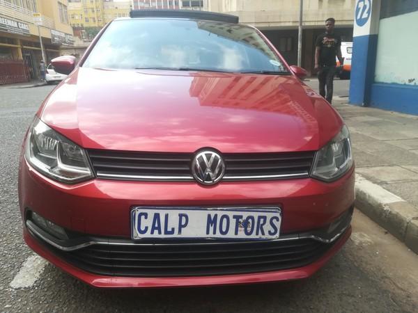 2014 Volkswagen Polo 1.2 TSI Trendline 66KW Gauteng Marshalltown_0