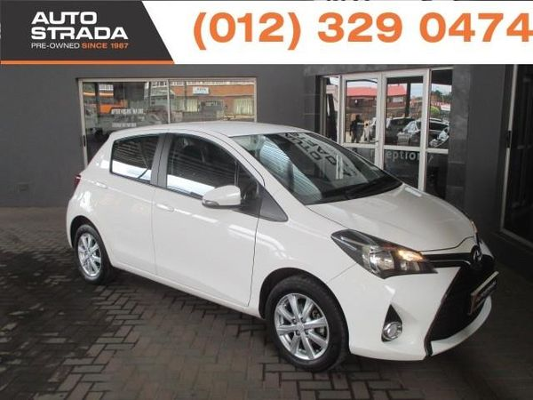 2015 Toyota Yaris 1.3 Xs Cvt 5dr  Gauteng Pretoria_0