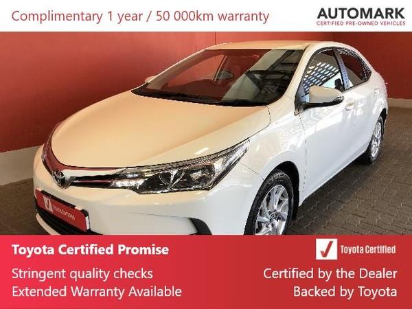 2020 Toyota Corolla 1.6 Prestige CVT Free State Bloemfontein_0