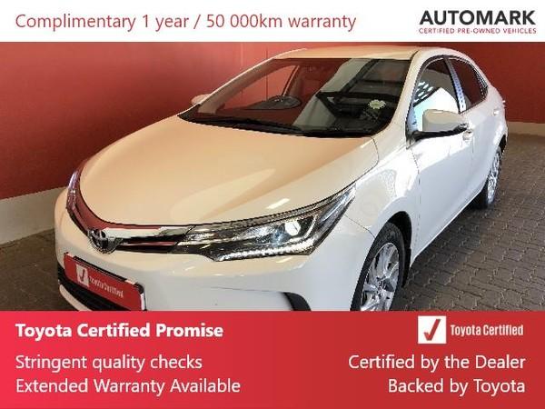 2020 Toyota Corolla 1.8 Exclusive Free State Bloemfontein_0
