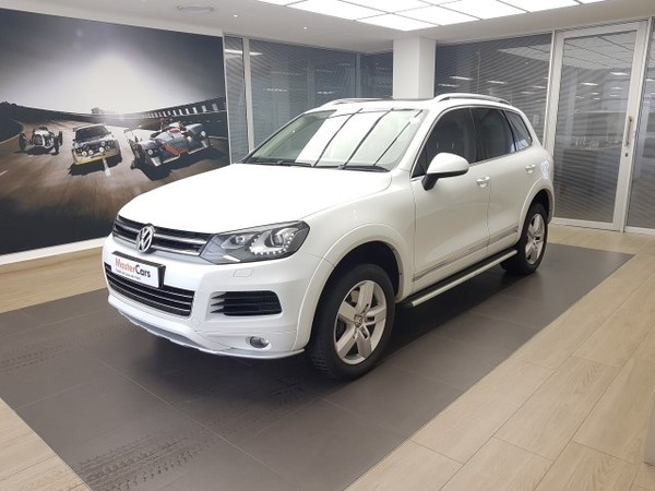 2012 Volkswagen Touareg 4.2 V8 Tdi Tip  Kwazulu Natal Newcastle_0