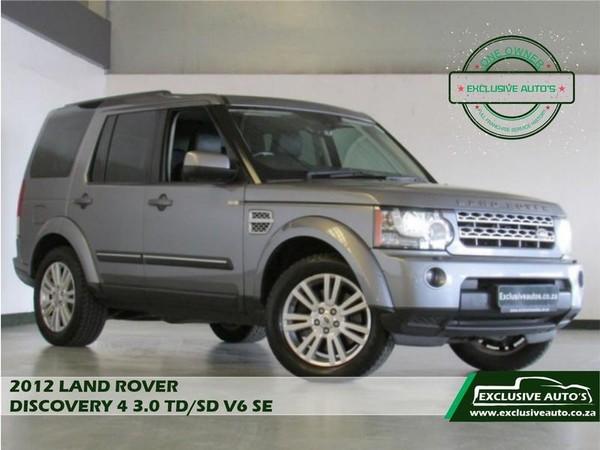 2012 Land Rover Discovery 4 3.0 Tdv6 Se  Gauteng Pretoria_0