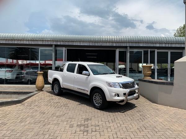 2015 Toyota Hilux 2.5 D-4D SRX RB LEGEND 45 Double Cab Bakkie Mpumalanga Delmas_0