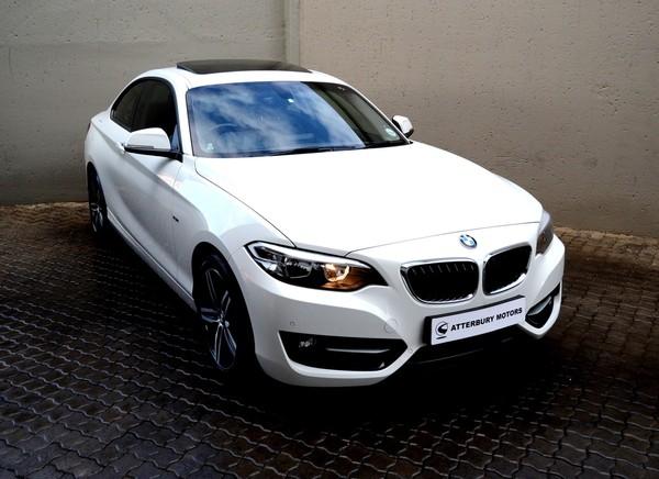 2015 BMW 2 Series 220D Sport Line Auto Gauteng Pretoria_0