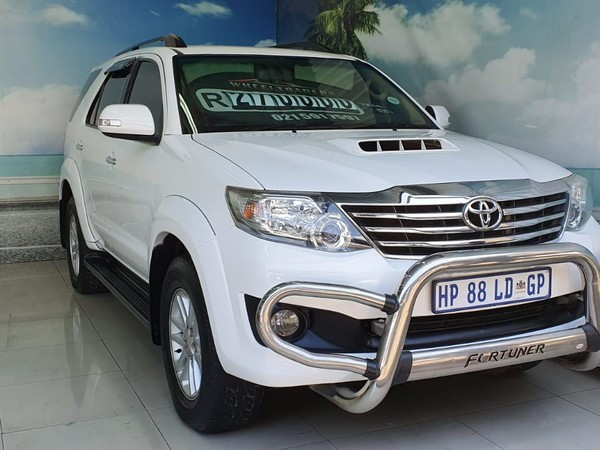 2013 Toyota Fortuner 2.5d-4d Rb At  Western Cape Parow_0