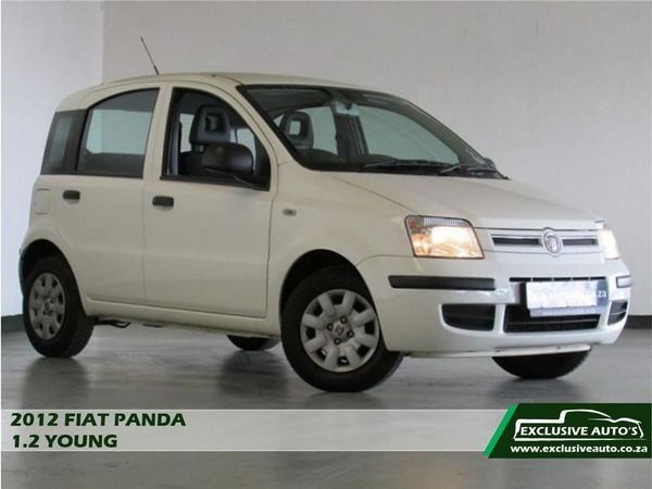 2012 Fiat Panda 1.2 Young  Gauteng Pretoria_0