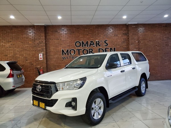 2019 Toyota Hilux 2.4 GD-6 SRX 4X4 Auto Double Cab Bakkie Mpumalanga Witbank_0