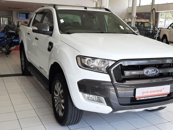 2017 Ford Ranger 3.2TDCi Wildtrak 4x4 Auto Double cab bakkie Gauteng Pretoria_0
