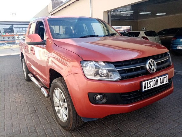 2012 Volkswagen Amarok 2.0tsi 118kw Sc Pu  Gauteng Johannesburg_0