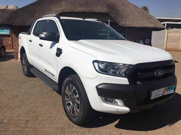 2017 Ford Ranger 3.2TDCi 3.2 WILDTRAK 4X4 Auto Double Cab Bakkie Gauteng Centurion_0