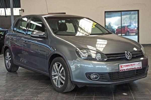 2012 Volkswagen Golf Vi 1.4 Tsi Comfortline  Gauteng Vereeniging_0