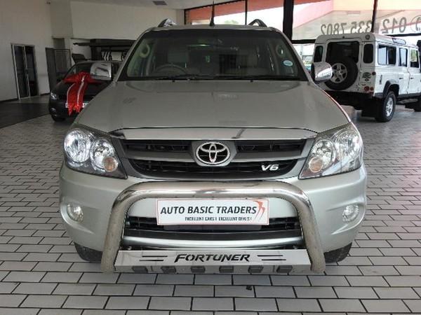 2009 Toyota Fortuner 4.0 V6 At 4x4  Gauteng Pretoria_0