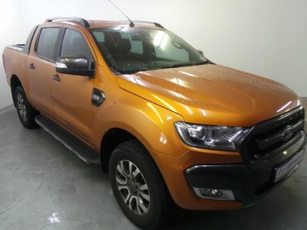 2017 Ford Ranger 3.2TDCi 3.2 WILDTRAK 4X4 Auto Double Cab Bakkie Kwazulu Natal Pinetown_0