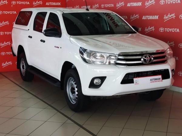2016 Toyota Hilux 2.4 GD-6 RB SRX Double Cab Bakkie Gauteng Sandton_0
