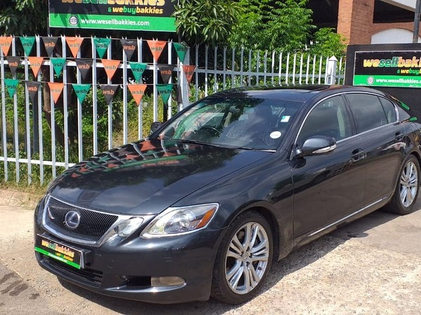 2008 Lexus GS 450h At  Gauteng Pretoria West_0