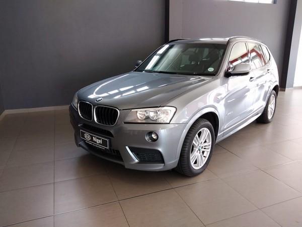 2013 BMW X3 Xdrive20d  M-sport At  Gauteng Nigel_0