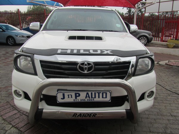 2013 Toyota Hilux 3.0d-4d Heritage Rb At Pu Dc  Gauteng Bramley_0