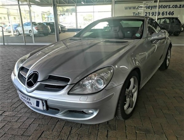 2005 Mercedes-Benz SLK-Class Slk 350 At  Western Cape Parow_0
