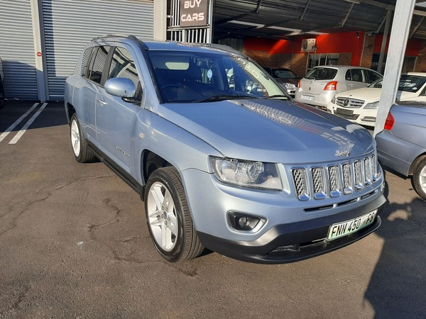 2013 Jeep Compass 2.0 Cvt Ltd  Gauteng Boksburg_0