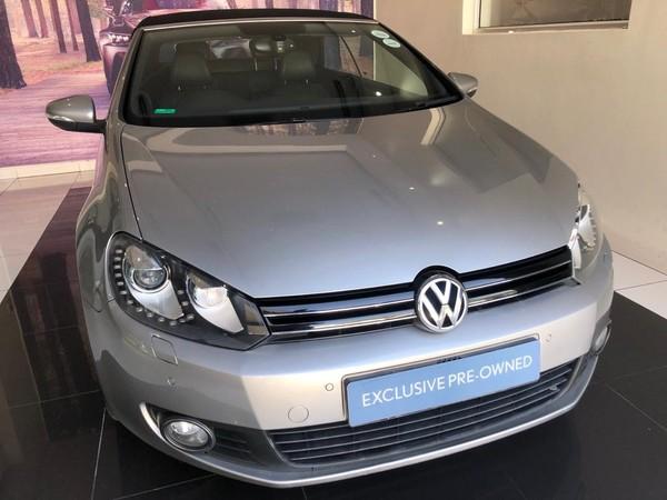2015 Volkswagen Golf Vi 1.4 Tsi Dsg Cabrio Cline  Gauteng Midrand_0