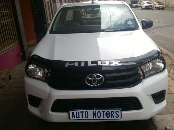 2017 Toyota Hilux 2.4 GD Single Cab Bakkie Gauteng Johannesburg_0