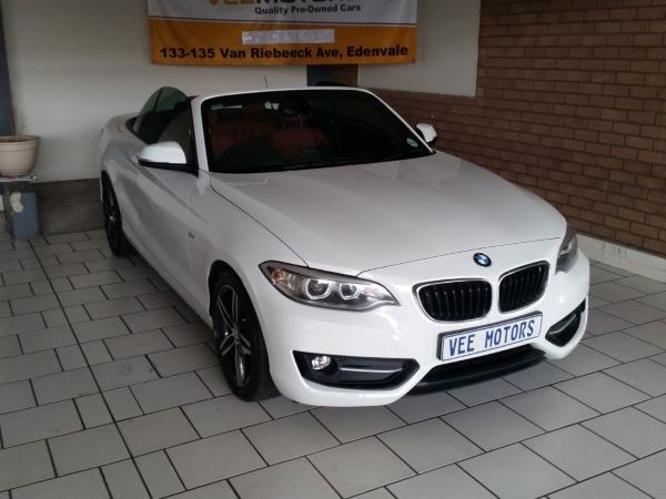 2017 BMW 2 Series 220i Convertible Sport Line Auto F23 Gauteng Edenvale_0