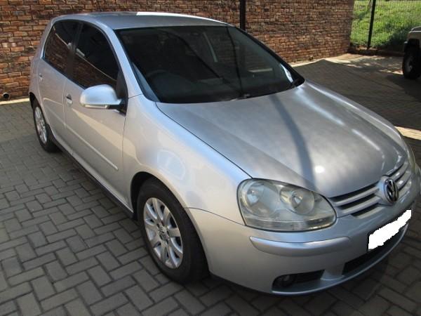 2008 Volkswagen Golf 1.6 Comfortline  Gauteng Pretoria_0
