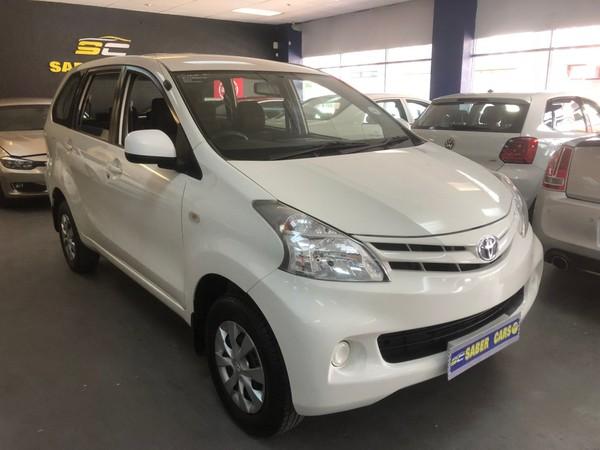 2015 Toyota Avanza 1.3 SX Gauteng Benoni_0