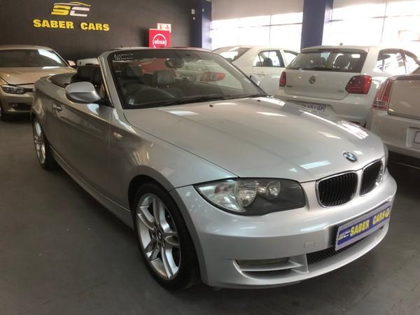 2010 BMW 1 Series 125i Convert Exclusive At  Gauteng Benoni_0