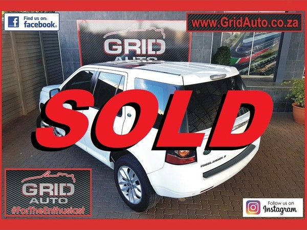 2013 Land Rover Freelander Ii 2.2 Sd4 Se At  Gauteng Pretoria North_0