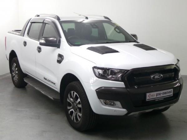 2018 Ford Ranger 3.2TDCi WILDTRAK Auto Double Cab Bakkie Kwazulu Natal Pinetown_0