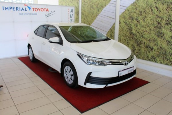 2019 Toyota Corolla 1.4D Esteem Gauteng Kempton Park_0