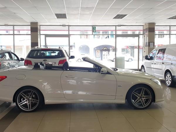 2012 Mercedes-Benz E-Class E250 Cgi Cabriolet  Kwazulu Natal Durban_0
