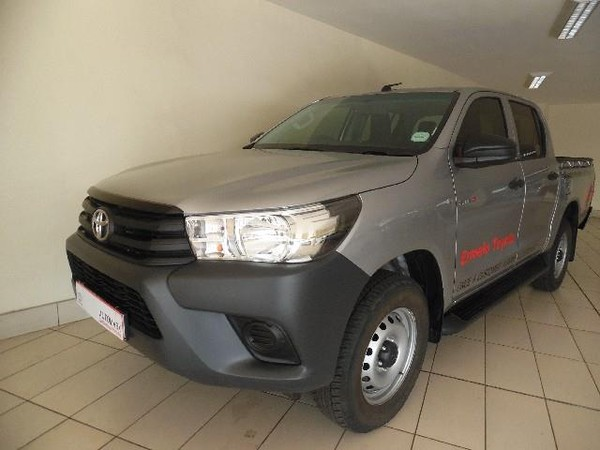2019 Toyota Hilux 2.4 GD-6 RB S Double Cab Bakkie Mpumalanga Ermelo_0