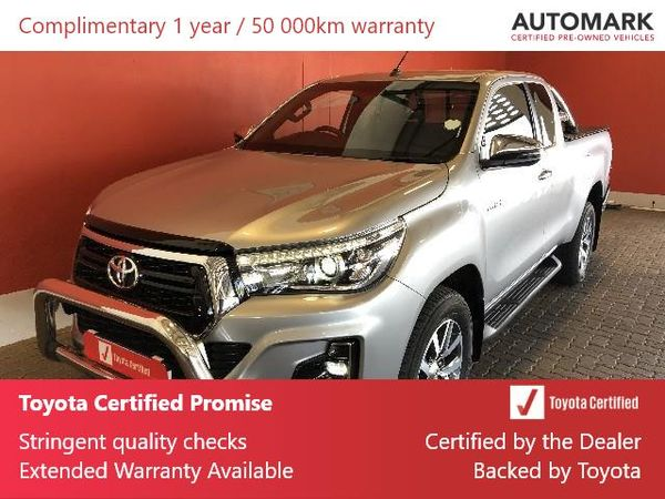 2019 Toyota Hilux 2.8 GD-6 RB Raider 4X4 Auto PU ECAB Free State Bloemfontein_0