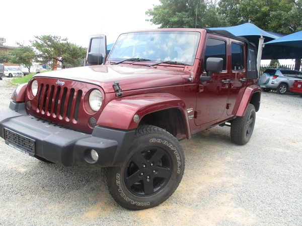 2009 Jeep Wrangler Unlimited 3.6l V6 At  Gauteng Roodepoort_0