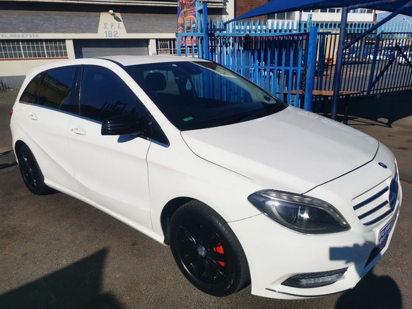 2014 Mercedes-Benz B-Class B 180 Cdi Be At  Gauteng Johannesburg_0