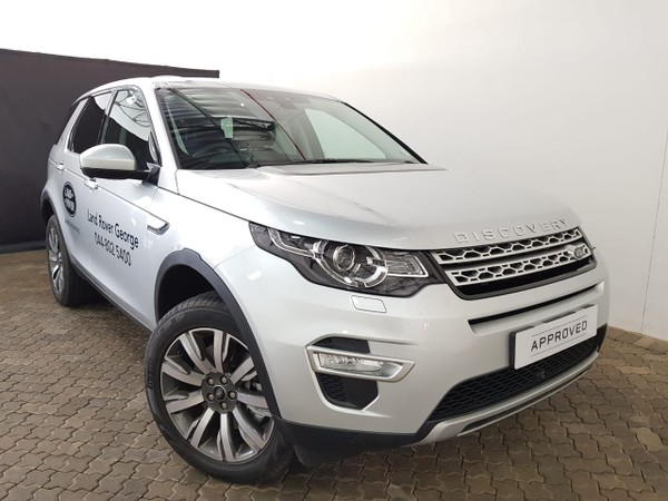 2020 Land Rover Discovery Sport Sport 2.0i4 D HSE LUX Western Cape George_0