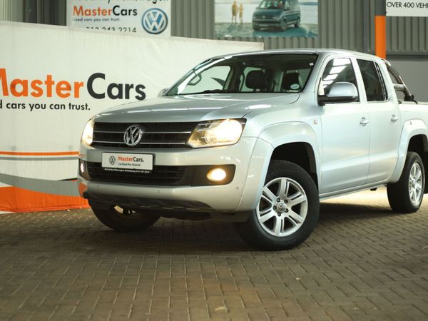 2014 Volkswagen Amarok 2.0TDi Trendline 103KW Double cab bakkie Mpumalanga Secunda_0