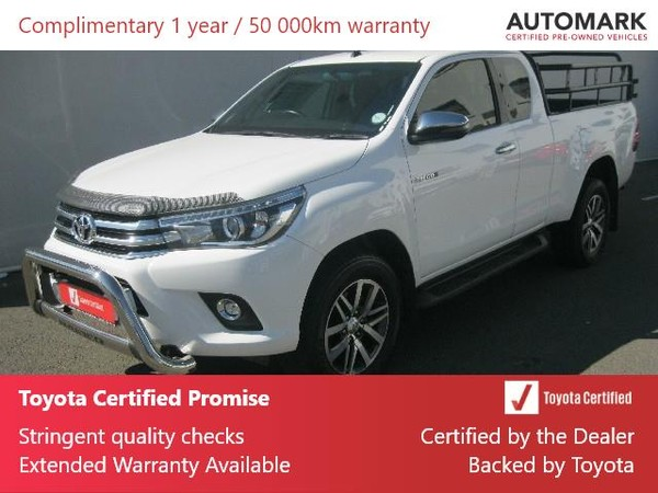 2018 Toyota Hilux 2.8 GD-6 RB Raider 4x4 Extra Cab Bakkie Auto Northern Cape Kimberley_0