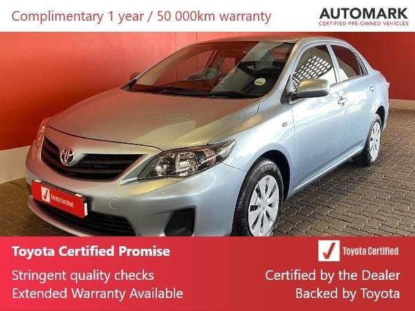 2016 Toyota Corolla Quest 1.6 Free State Bloemfontein_0