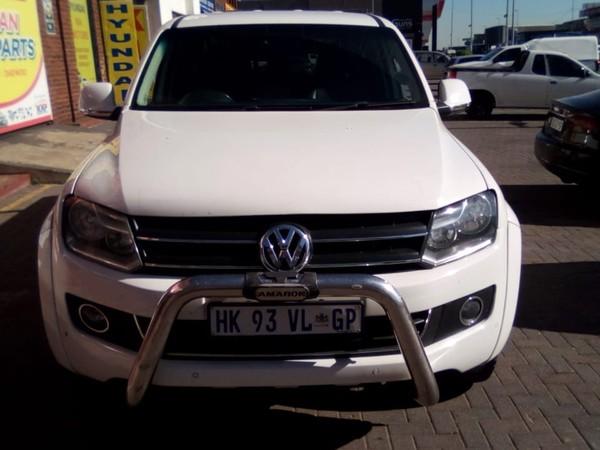2014 Volkswagen Amarok 2.0 BiTDi Highline 132KW 4MOT Auto Double cab bakk Gauteng Bramley_0