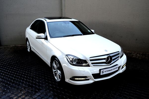 2013 Mercedes-Benz C-Class C200 Be Avantgarde  Gauteng Pretoria_0